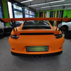 Foto 5 de 12 de la galería porsche-911-gt3-rs-naranja-mate en Motorpasión
