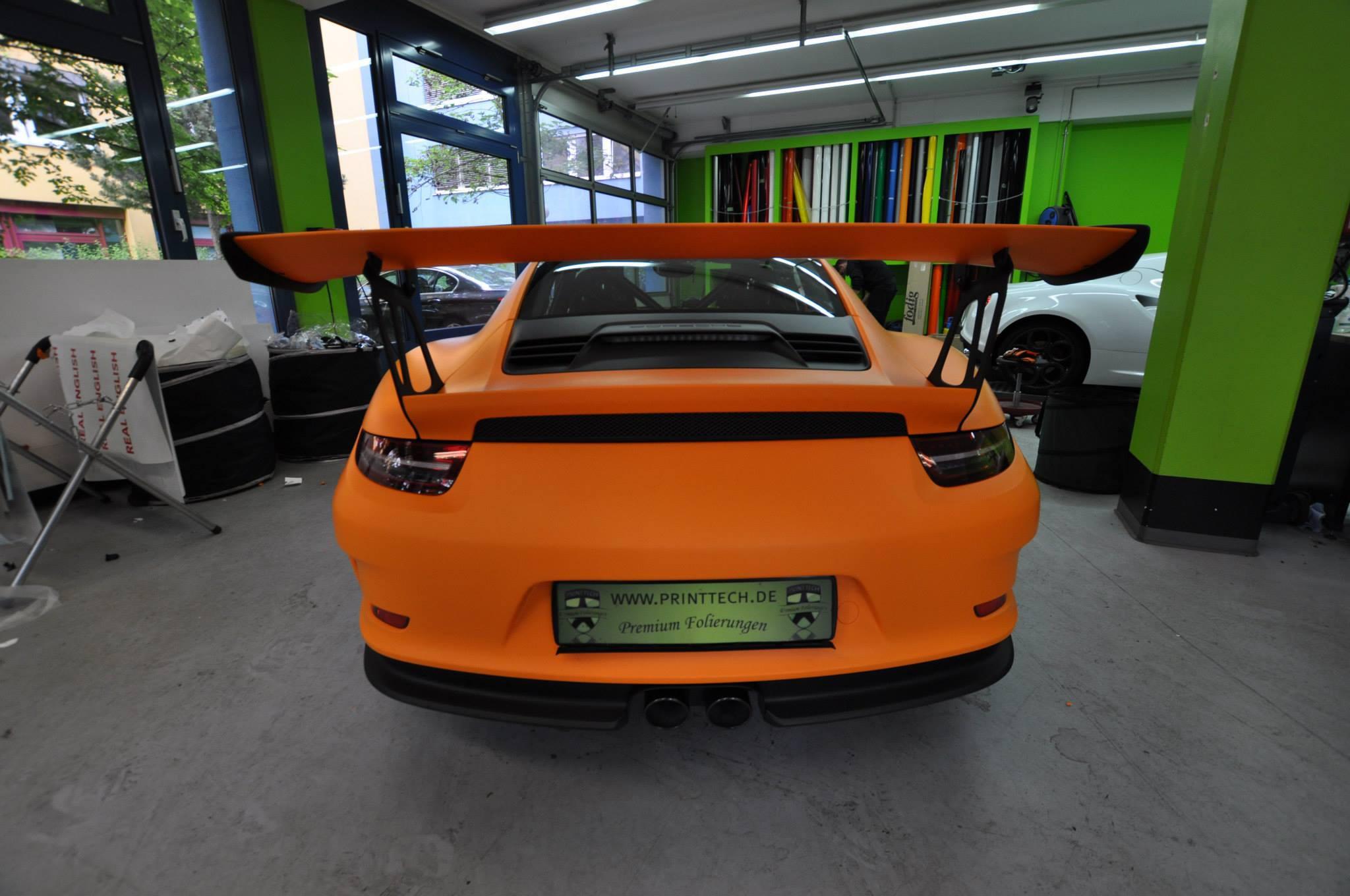 Foto de Porsche 911 GT3 RS naranja mate (5/12)
