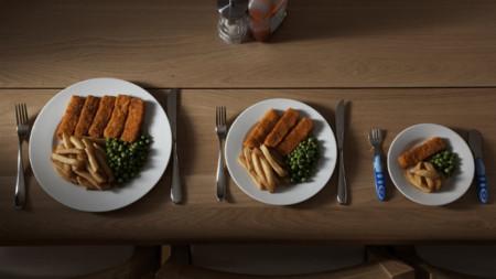 Servir porciones individuales, una buena estrategia para comer menos