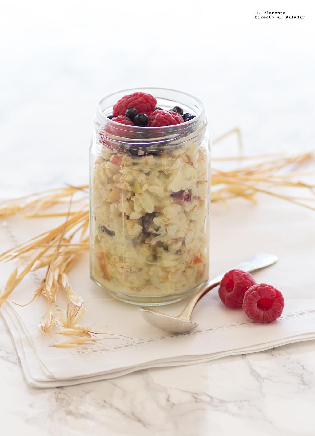 Muesli Bircher Receta De Cocina Facil Sencilla Y Deliciosa