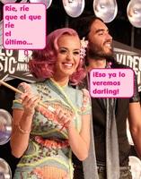 Katy Perry tentada para rajar... dos millones de euros tienen la culpa