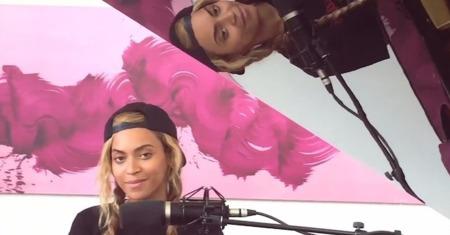 Beyoncé se nos pone romántica y le dedica una canción a Jay-Z