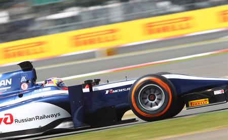 Mitch Evans y Felipe Nasr, gloria en Silverstone en la GP2