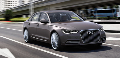 Audi A6 L e-tron Concept, también en Pekín