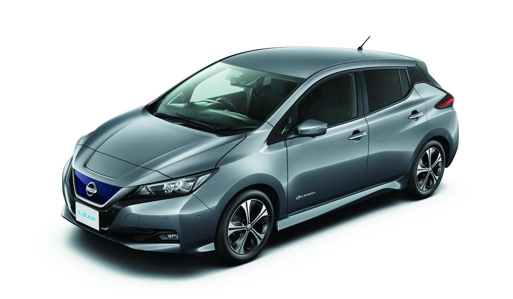 Nuevo Nissan Leaf 2018 Metal Grey