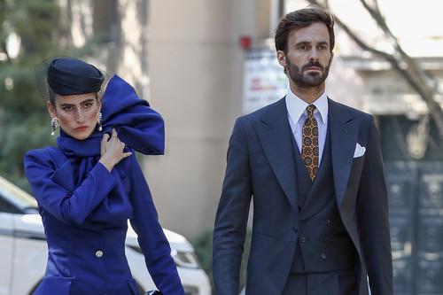 Así han vestido las invitadas a la boda de Sofía Palazuelo y Fernando Fitz-James Stuart en el Palacio de Liria