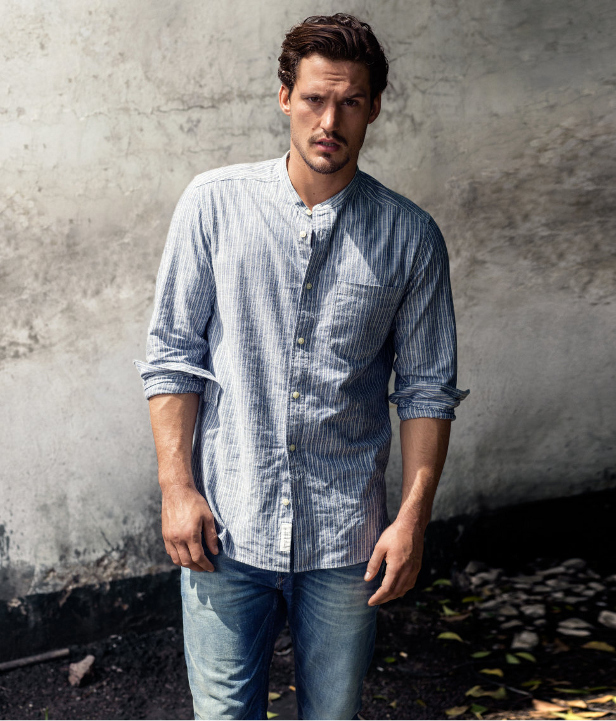 Camisa rayas H&M