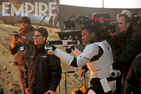 J.J. Abrams y John Boyega