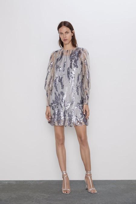Vestido Invitada Zara 3