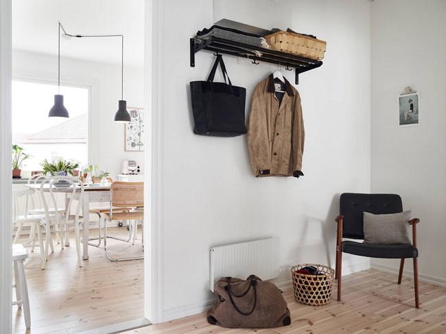 Piso n rdico funcionalidad con muebles de ikea - Pisos decorados con encanto ...