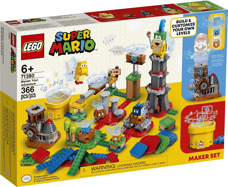 LEGO Kit de construcción Super Mario - Set de Creación: Tu Propia Aventura (366 Piezas)