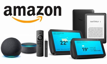 Dispositivos Amazon en oferta: comienza el año estrenando un Echo, un Kindle o un Fire TV al mejor precio