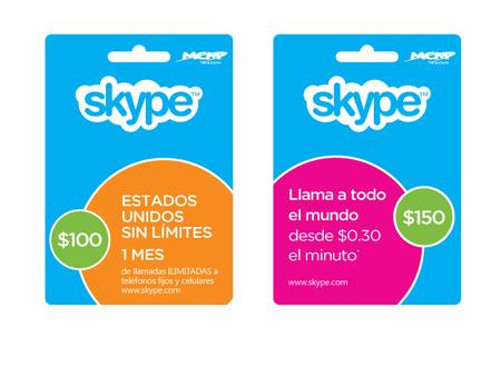 Skype trae tarjetas de prepago a México