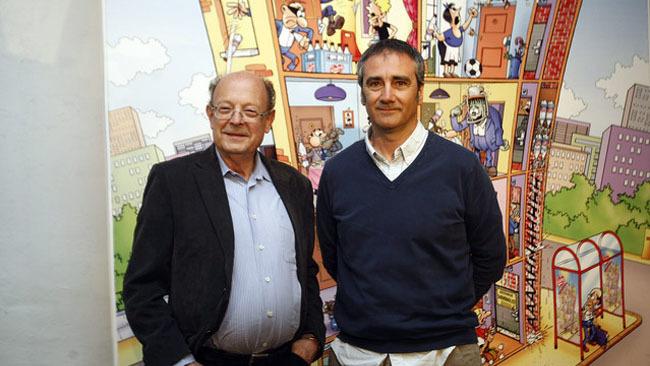 Francisco Ibáñez y Javier Fesser