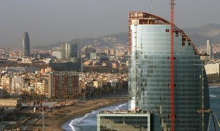 El hotel Vela, el nuevo y controvertido Hotel W de Barcelona 5*