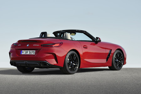 BMW Z4 M40i First Edition trasera