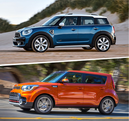Mini Countryman S Vs Kia Soul Sx 3