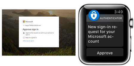 Microsoft Authenticator Companion App For Apple Watch 3