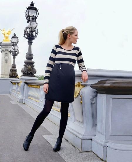 seraphine falda negra