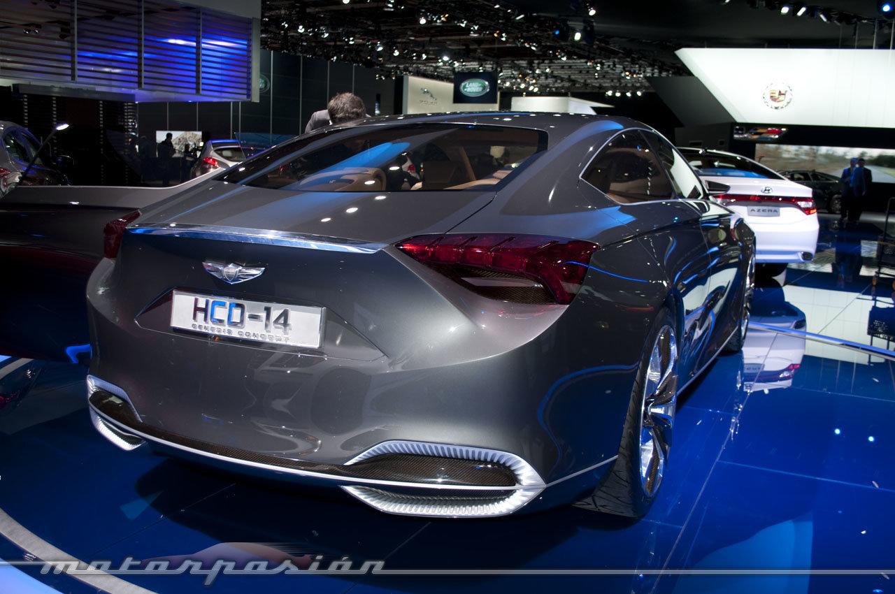 Foto de Hyundai HCD-14 Concept en el Salón de Detroit 2013 (7/7)