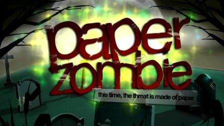 'Paper Zombie'. Hasta los zombies de papel sufren nuestra ira