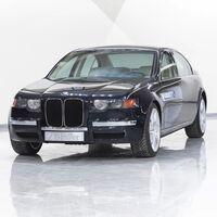 Los riñones verticales de BMW ya existieron hace 25 años, pero solo en este prototipo de Serie 7 que no había salido a la luz