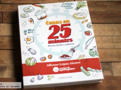 Cenas en 25 minutos. Libro de cocina
