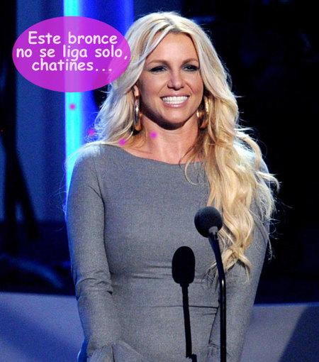 Britney Spears prefiere ligar bronce a cascoporro en vez de ir a los Grammy