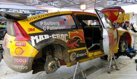 Petter Solberg marca el mejor tiempo del Shakedown de Alsacia