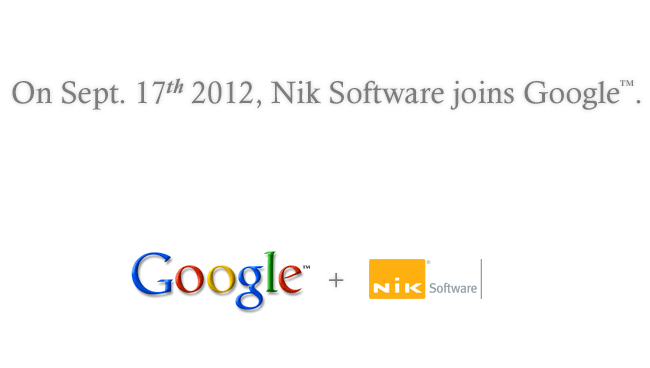 Google compra NIK Software