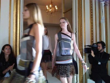 Balenciaga Primavera-Verano 2010 en la Semana de la Moda de París