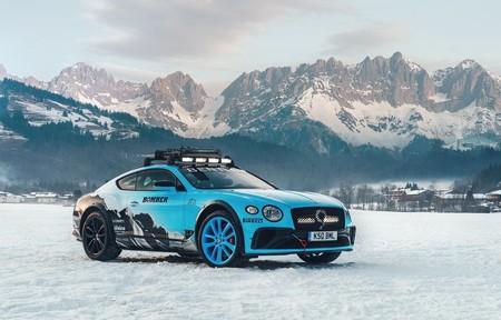 El Bentley Continental GT Ice Race abandona el asfalto para divertirse de lo lindo en la nieve