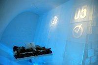 Cómo son las habitaciones de un ice hotel en la Laponia sueca