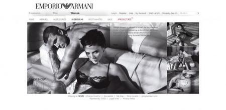Armani tiene nueva línea de lencería