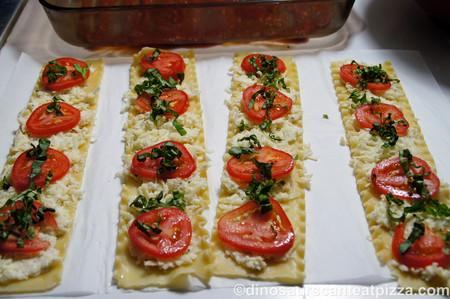 Rollitos de Pasta de lasaña