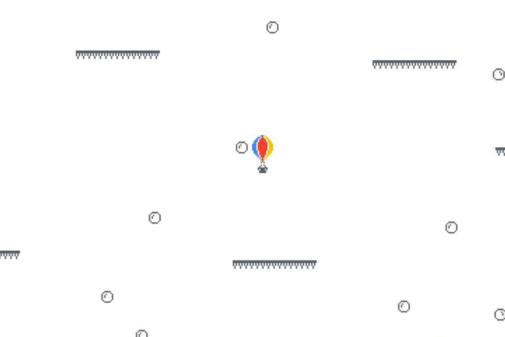 Cómo jugar al minijuego oculto de Google™ Play 'Globo de aire caliente'