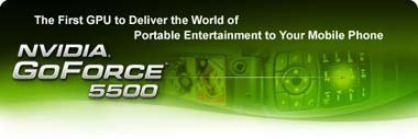 NVidia GoForce 5500, tarjeta gráfica para móviles