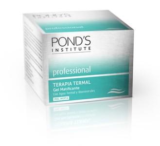 Pond's Institute presentó su gama Professional Terapia Termal, probamos su Gel Matificante