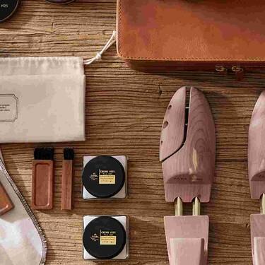 Zara Home vuelve a enamorarnos con una colección vintage que incluye todo lo necesario para cuidar y limpiar el calzado