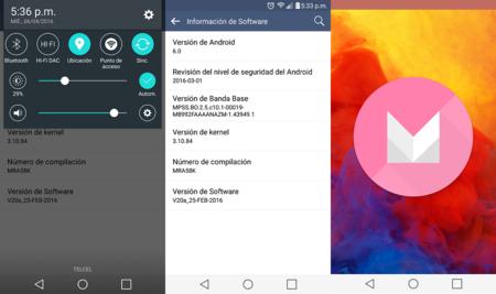 Android Marshmallow llega al LG V10 en México