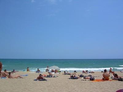 Información en tiempo real de la seguridad del baño en las 236 playas catalanas en una web