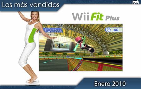 Los juegos más vendidos en España. Enero 2010
