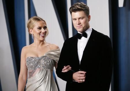 Scarlett Johansson y Collin Jott