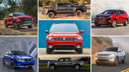 Los 65 autos fabricados en México, del más al menos producido en 2019