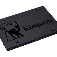 Más barato todavía, sólo esta mañana, el Kingston SSD A400 de 120 GB cuesta 32,90 euros en Mediamarkt