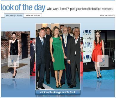 La Princesa Letizia entre las más elegantes según la web de Vogue América