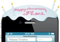 Imagen de la semana: ¡Feliz cuarto cumpleaños, iPhone!