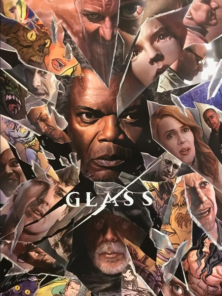 Cartel de Glass para la Comic-Con