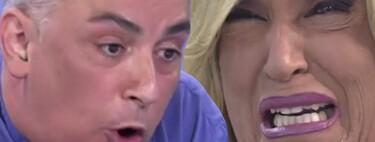 """Kiko Hernández manda a tomar por culo a Lydia Lozano y esta abandona el plató de 'Sálvame' llorando a moco tendido: """"¡No voy a tolerar esa falta de respeto!"""""""