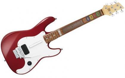 Guitarra de Logitech para Guitar Hero